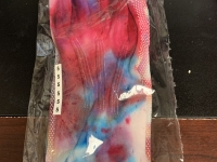 Tie Dye Gloves Large Dots Pair S