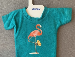 Flamingo with Bells