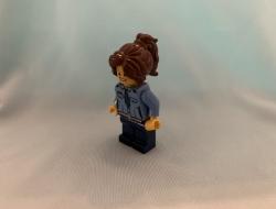 HAIR LADIES MEDIUM BROWN PONYTAIL
