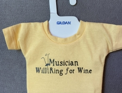 Musician Ring for Wine