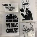 Star Wars Removable Decals