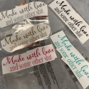 Made with Love Removable Decal