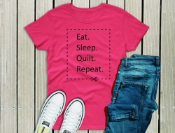 Eat Sleep Quilt Repeat