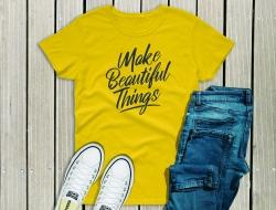 Make Beautiful Things script font