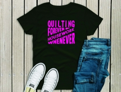 Quilting Forever on diagonal