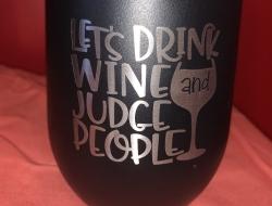 Let's Drink Wine...