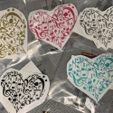 Music Heart Removable Decal