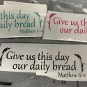 Give Us This Day Removable Decal
