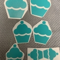 Cupcakes Removable Decals