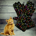 Random Note Gloves